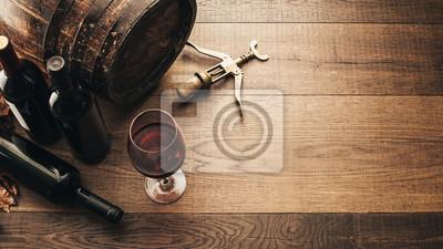 Degustacja doskonałego czerwonego wina