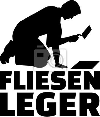 Dekarz z kielnią i niemiecki tytuł pracy