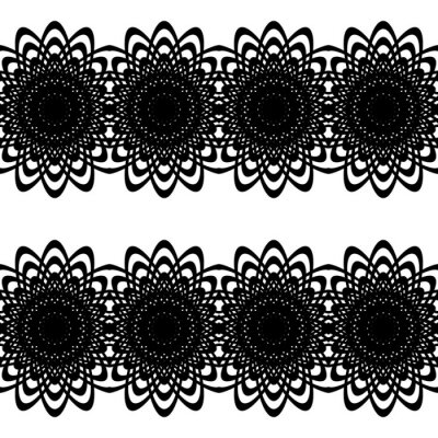 Naklejka Design seamless decorative pattern