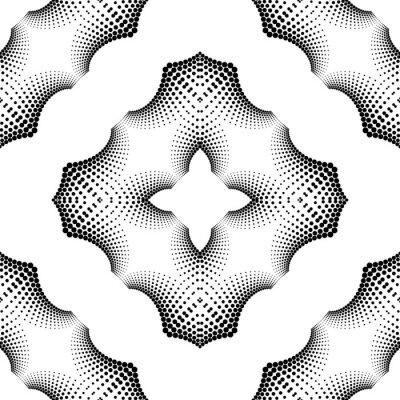 Naklejka Design seamless dotted pattern