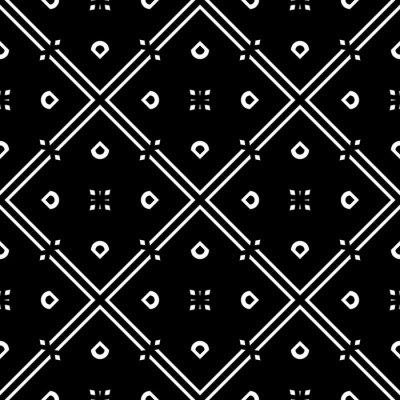 Naklejka Design seamless geometric pattern