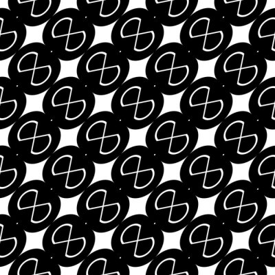 Naklejka Design seamless grating pattern
