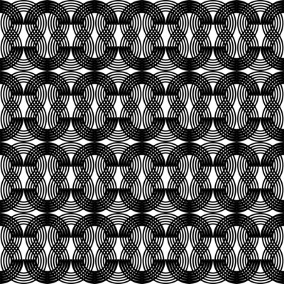 Naklejka Design seamless waving pattern