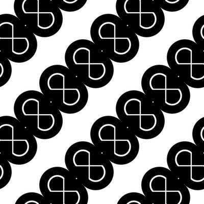 Naklejka Design seamless zigzag pattern