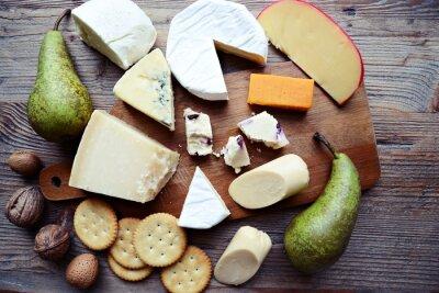 Naklejka Deska serów