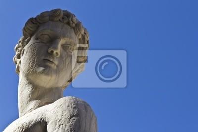 Dettaglio di statua di Piazza Pretoria - Palermo