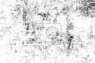 Naklejka Distress grunge tekstury tła z miejsca. Podłoga Distress black dirty old ziarna. Czarny cierpienie szorstki tła.