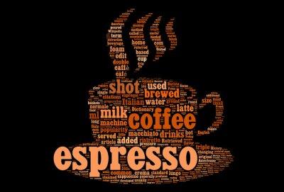Naklejka Do kawy