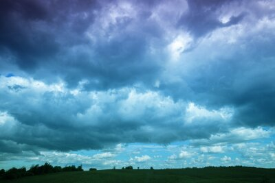 Dramatic stormy sky with clouds. Sky texture, abstract nature background