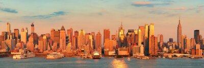 Naklejka Drapacze chmur w Nowym Jorku