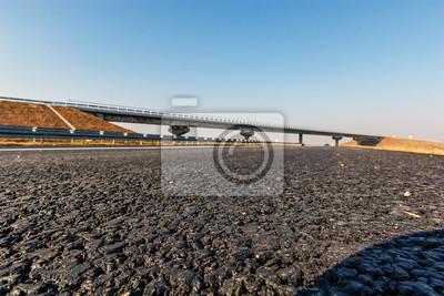Naklejka Droga asfaltowa