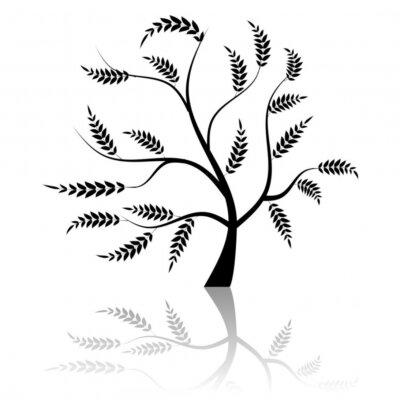 Naklejka Drzewo sztuki piękne