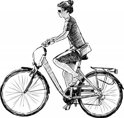 Bicicletta Coffee Con Velo
