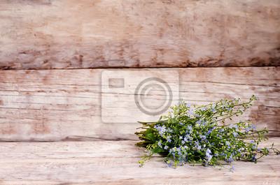 Naklejka dzikie kwiaty
