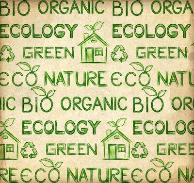 Naklejka Eco tapety