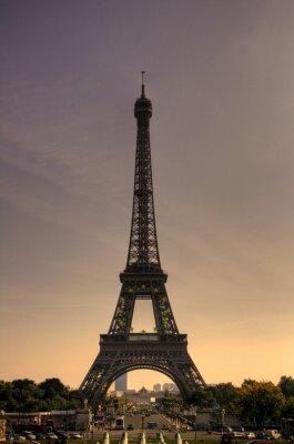 Naklejka Eiffelturm w Paryżu