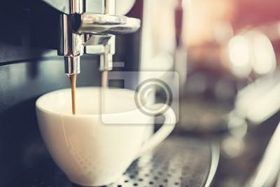 Naklejka Ekspres do kawy? Wie? Ej kawy
