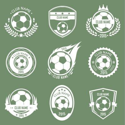 Naklejka Emblematy piłkarskie
