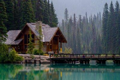 Naklejka Emerald Lake Lodge