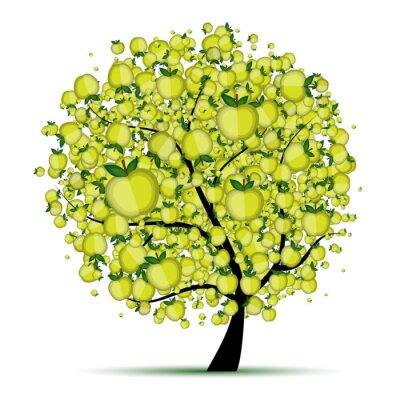 Naklejka Energy jabłoń projekt