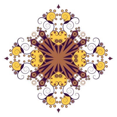 Naklejka Etniczne gwiazdą