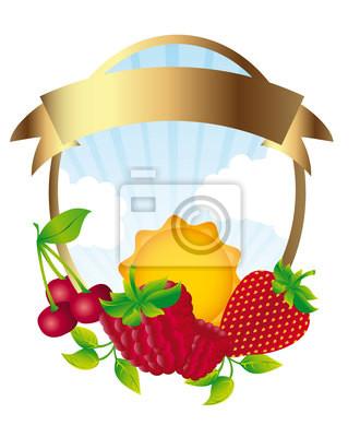 etykieta owoce