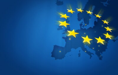 Naklejka Europa