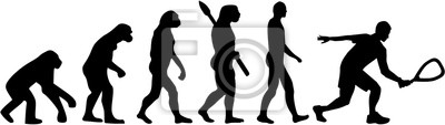 ewolucja badminton