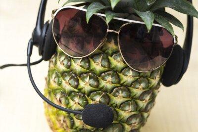 Naklejka Fajne Pineapple
