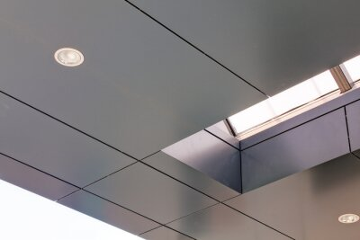 Naklejka Fasady aluminiowe