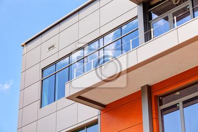 Naklejka fasady aluminiowe i alubond panele
