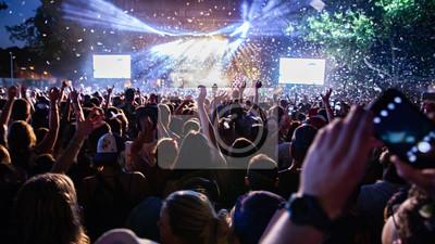 Naklejka festiwal