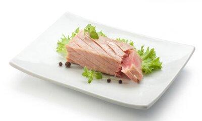 Naklejka Filet z tuńczyka