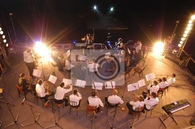 Naklejka filharmonia