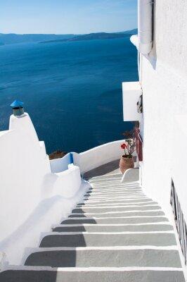 Naklejka Firostefani Santorini