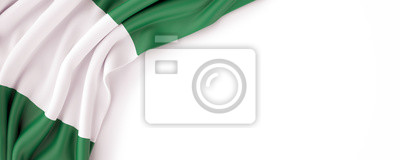 Naklejka Flaga Nigerii