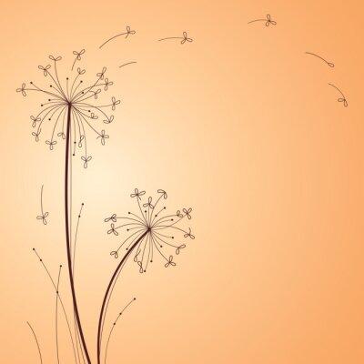 Naklejka Floral Design