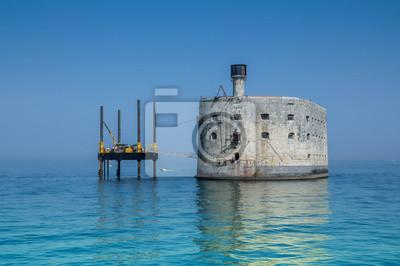 Naklejka Fort Boyard et sa plate-forme 3