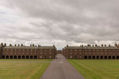 Naklejka Fort George - Historic 18th Century Military Fortress near Inverness