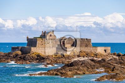 Naklejka Fort Narodowego w Saint Malo