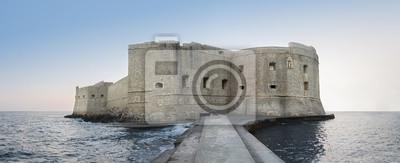 Naklejka Fortaleza en medio del mar