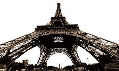Naklejka france, paris: tour eiffel