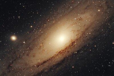 Naklejka Galassia di Andromedy M31