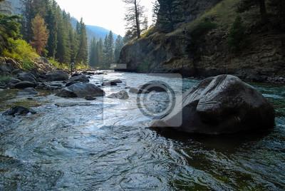 Naklejka Gallatin River, Montana