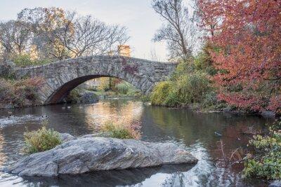 Naklejka Gapstow most Central Park, Nowy Jork