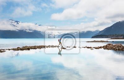 Naklejka Garibaldi lake