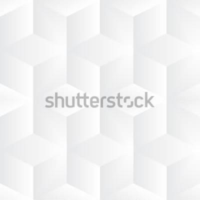 Naklejka Geometryczne tło wektor kostki