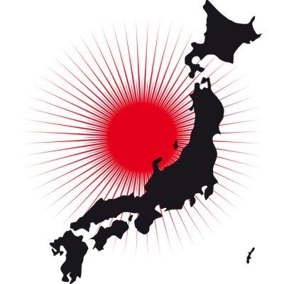Naklejka Giappone