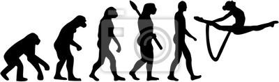 Gimnastyka ewolucja z liny