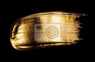 Naklejka gold